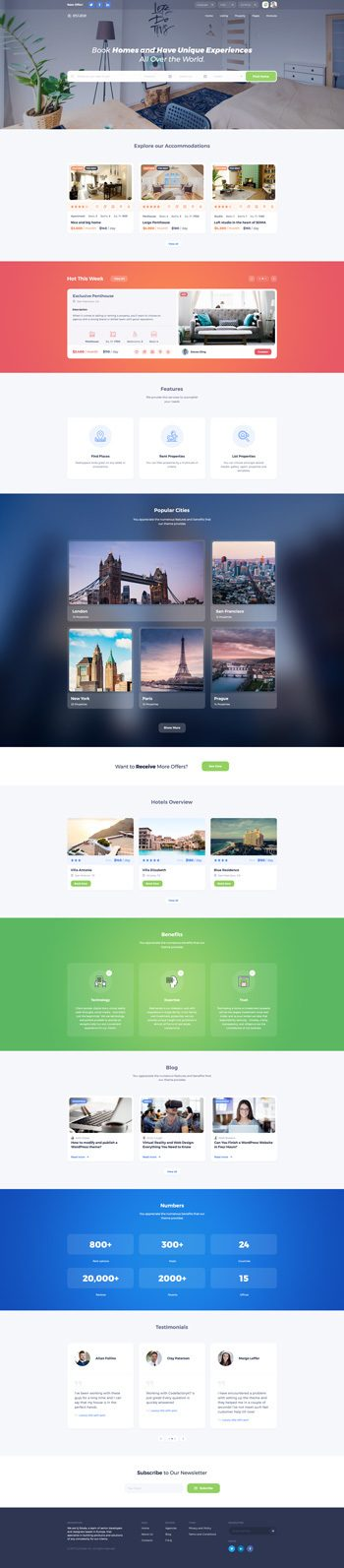 best booking wordpress theme