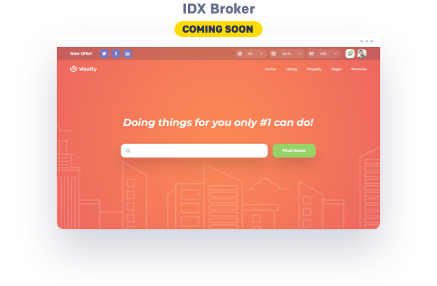 IDX Broker wordpress theme